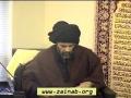 [Thursday Lectures] Besat & Meraj of Holy Prophet (s) - H.I. Abbas Ayleya - 6 June 2013 - English